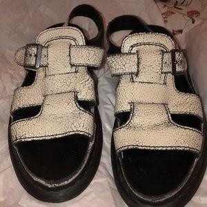 Doc martens Platform chunky sandal thick VSCO 90s